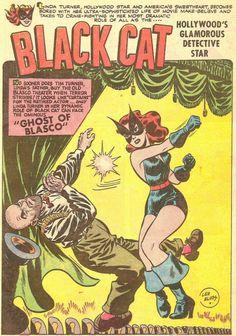 Black Cat Comics #4 Art by Lee Elias The Best Comic Book Panels