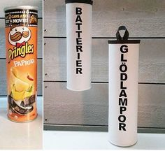 storage Source by Bra Hacks, Hacks Diy, Home Hacks, Pringles Can, Diy Interior, Diy Projects To Try, Organizer, Declutter, Diy Furniture