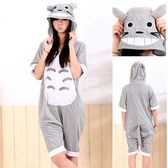 PajamasBuy - Totoro Pajamas Animal Onesie Hoodie Kigurumi Short Sleeve Costume, $13.62 (http://www.pajamasbuy.com/totoro-pajamas-animal-onesie-hoodie-kigurumi-short-sleeve-costume/)