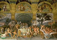 Giulio Romano - The Feast of the Gods