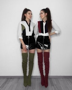 L'image contient peut-être: 2 personnes, personnes debout Twin Outfits, Outfits For Teens, Girl Outfits, Cute Outfits, Matching Outfits Best Friend, Best Friend Outfits, Winter Fashion Outfits, Teen Fashion, Fashion Clipart