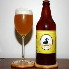 Cerveja Jambreiro Blondie, estilo Blond Ale, produzida por Companhia Cervejaria Jambreiro, Brasil. 5% ABV de álcool.