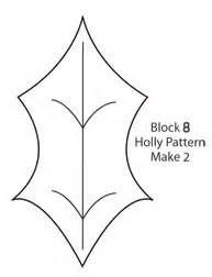 holly leaf template - Yahoo Image Search Results
