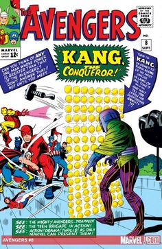 Avengers 8 (1963) Published: September 10, 1964 Added to Marvel Unlimited: November 13, 2007 Penciller: Jack Kirby  Cover Artist: Jack Kirby Inker: Dick Ayers Editor: Stan Lee Also Appears In Marvel Masterworks: The Avengers Vol. (Hardcover)