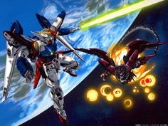 Gundam Wing vs Epyon