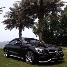 Mercedes S63 AMG Coupe, gorgeous lines #DreamCars