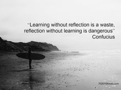How do you build reflection into your everyday?