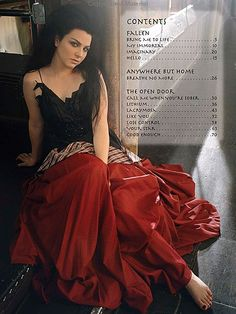 Amy Lee...Evanescence. One of the best female voices.