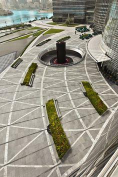 Project – Burj Khalifa Park  Designer: SWA Group  Location – Dubai, UAE  Completed – 2011    http://www.landezine.com/index.php/2012/02/burj-khalifa-landscape-architecture/