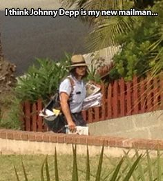 I have a new mail man…
