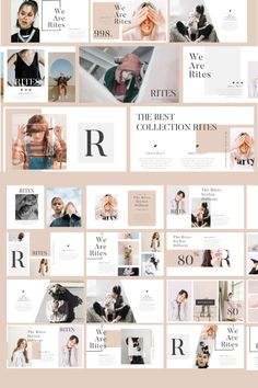 Rites - Creative PowerPoint Template. #powerpoint #powerpointdesign