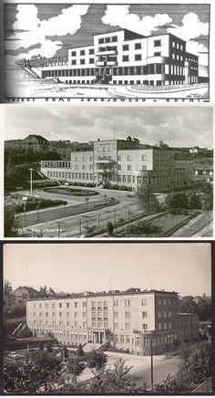 Poland, Louvre, Art Deco, Dom, Building, Places, Travel, Viajes, Buildings