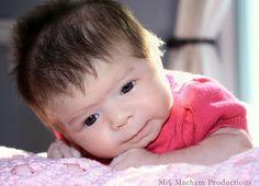 Beautiful baby girl. Miss Maehym Photography