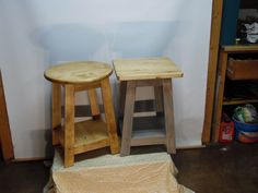 "I also Make the 16"" Round and the 17"" Square - As Tables Only -  25"" Height - very Sturdy Tables - Any Color you Want"