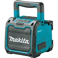 Makita XRM07 18V LXT Lithium-Ion Cordless Bluetooth Job Site Speaker, Tool Only - - Amazon.com