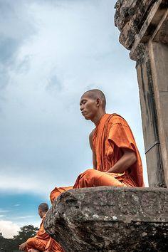 Meditation . Cambodia