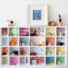 Ikea Hacking – how to get creative with your homewares - TOTALLY doing this with the kids shelves.