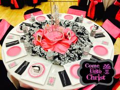 Come Unto Christ Dinner. From Marci Coombs' Blog