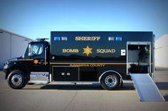 Kanawha County, WV Sheriff's Office Bomb Squad.