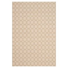 Ivory Geometric Woven Area Rug - (4' x 6') - Safavieh