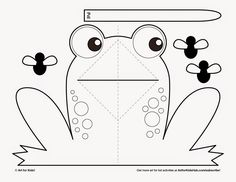 See 8 Best Images of Free Printable Frog Templates. Simple Frog Template Paper Puppets Cut Outs Frog Pop Up Template Paper Plate Frog Leg Template Frog Printable Cut Out Pop Up Card Templates, Templates Printable Free, Art For Kids Hub, Diy For Kids, Frog Crafts, Preschool Crafts, Preschool Printables, Frog Template, Postcard Template