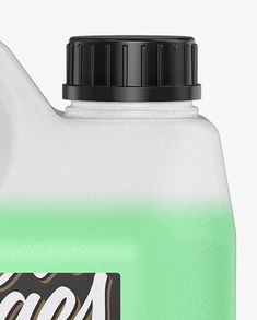 Plastic Jarry Can with Liquid Mockup in Jerrycan Mockups on Yellow Images Object Mockups Jerry Can, Screw Caps, Creative Words, Spare Parts, Canisters, Cool Artwork, Earn Money, Mockup, Packaging Design