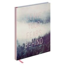 Leave Fear Lined Journal By Artist s Loft™ da186aa28c1ab