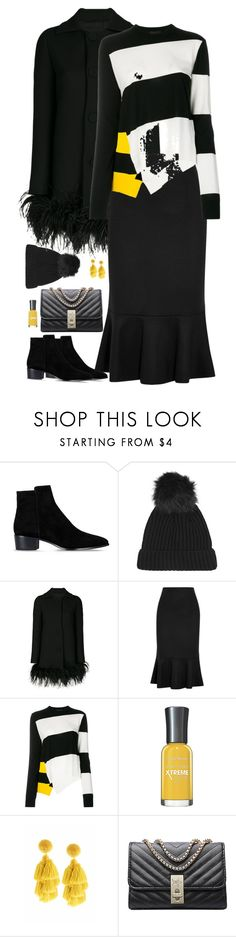 """""""Untitled #9809"""" by miki006 ❤ liked on Polyvore featuring Barbara Bui, Topshop, Boutique Moschino, MaxMara, Calvin Klein 205W39NYC and Sachin + Babi"""