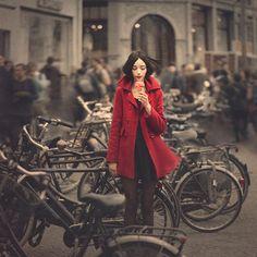 Model Photograph - raspberry sorbet in Amsterdam by Anka Zhuravleva Photography Workshops, Creative Photography, Fine Art Photography, Portrait Photography, Fashion Photography, Street Photography, Dreamy Photography, Contemporary Photography, Photography Ideas