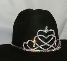 62b7fa8d190 COWBOY RODEO QUEEN COWGIRL HAT TIARAS