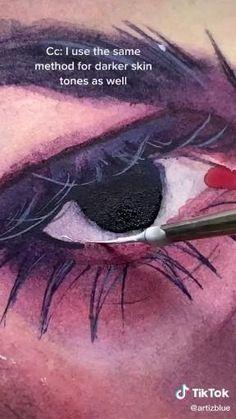 Art Drawings Sketches Simple, Pencil Art Drawings, Diy Canvas Art, Art Sketchbook, Art Techniques, Aesthetic Art, Art Tutorials, Cute Art, Watercolor Portrait Tutorial