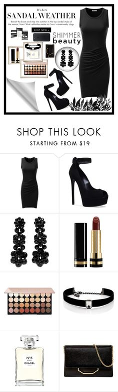 """""""Untitled #374"""" by amila-lugavic ❤ liked on Polyvore featuring Doublju, Casadei, Simone Rocha, Gucci, Kenneth Jay Lane, Chanel and Louise et Cie"""