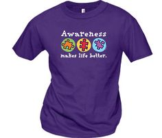 Autism Awareness Purple T-Shirt 100% Ring-Spun Cotton $9.95 each Promote Autism Awareness with these puzzle piece t-shirts.