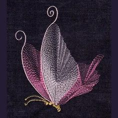 Free Embroidery Design: Butterfly                                                                                                                                                                                 More