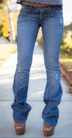 Frankie B Jeans Boot Cut Medium Wash Distressed 0
