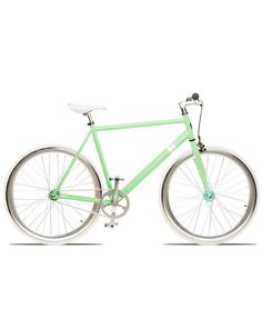 biking is actually a great workout, if I had a pretty bike like this I would do it more often...