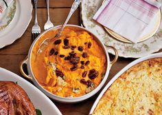Sweet Potatoes with Blue Cheese and Pecans (great for winter/fall)