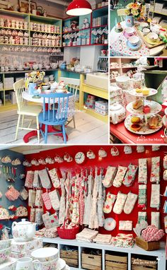 Kath kidston London kitchen