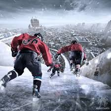 Speed, race, ice and fight : it's the Crashed Ice! Red Bull, Fantasy Art, Images, Racing, Superhero, Mountains, Illustration, Photography, Fictional Characters
