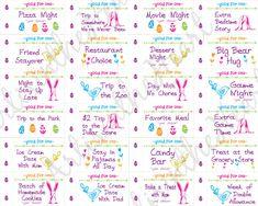 Easter Coupon book for kids, Easter Basket Filler, Easter Basket gift, Easter Basket for Boys & Girl Easter Bunny, Easter Eggs, Happy Easter, Easter Table, Easter Crafts For Kids, Easter Egg Hunt Ideas, Bunny Crafts, Easter Decor, Easter Basket Ideas