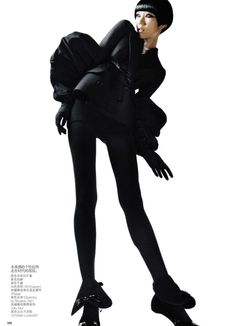 Tao Okamoto by Sølve Sundsbø for Vogue China September 2010 by どえふ