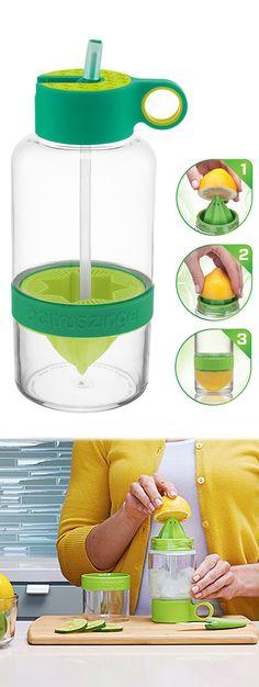 Citrus Infuser Water Bottle