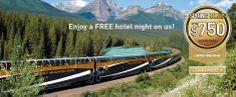 Rocky Mountaineer - Train through Canadian Rockies