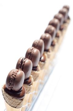Macarons #plating #presentation