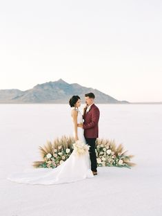 Elopement at the Bonneville Salt Flats ⋆ Ruffled Ethereal Elopement at the Bonneville Salt Flats ⋆ Ruffled A Contemporary Rehearsal Dinner with Playful & Bold Colors ⋆ Ruffled Groom in Pink Wedding Suit Twirling His Partner in a Green Wedding Suit Green Wedding Suit, Wedding Vendors, Wedding Ceremony, Wedding Poses, Bouquet Wedding, Wedding Ideas, Wedding Decorations, New York Wedding, Paris Wedding