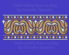 Decorative Border Curl 1 created by the old от EmbroideryZone