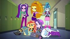And they came not out of mercy, but out of vengeance. Vectors by and Revenge of the Dazzlings My Little Pony Quiz, My Little Pony Characters, My Little Pony Comic, Kidnapped Girl, Dinosaur Room Decor, My Little Pony Wallpaper, Bmw Wallpapers, Rainbow Rocks, Mlp Fan Art