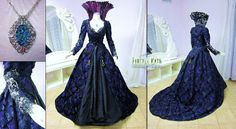 Once Upon a Time Gown by LillyXandra