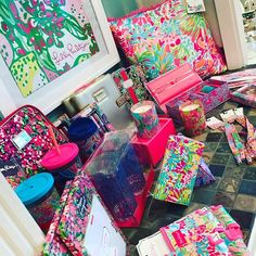 New Lilly items are in!! #jewelryboutique #lillypulitzer #lilly #mom #mothersday #grandhaven #springlake