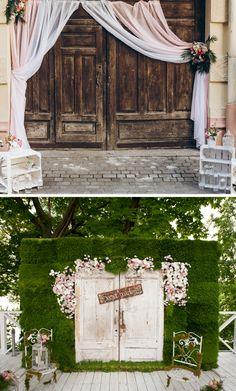 Fotobox Fur Die Hochzeit 40 Coole Fotowand Ideen Mit Bildern